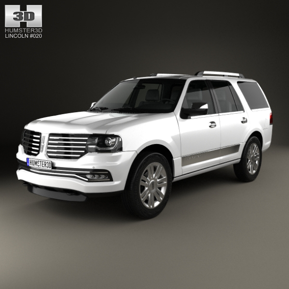 Lincoln Navigator 2015 - 3DOcean Item for Sale