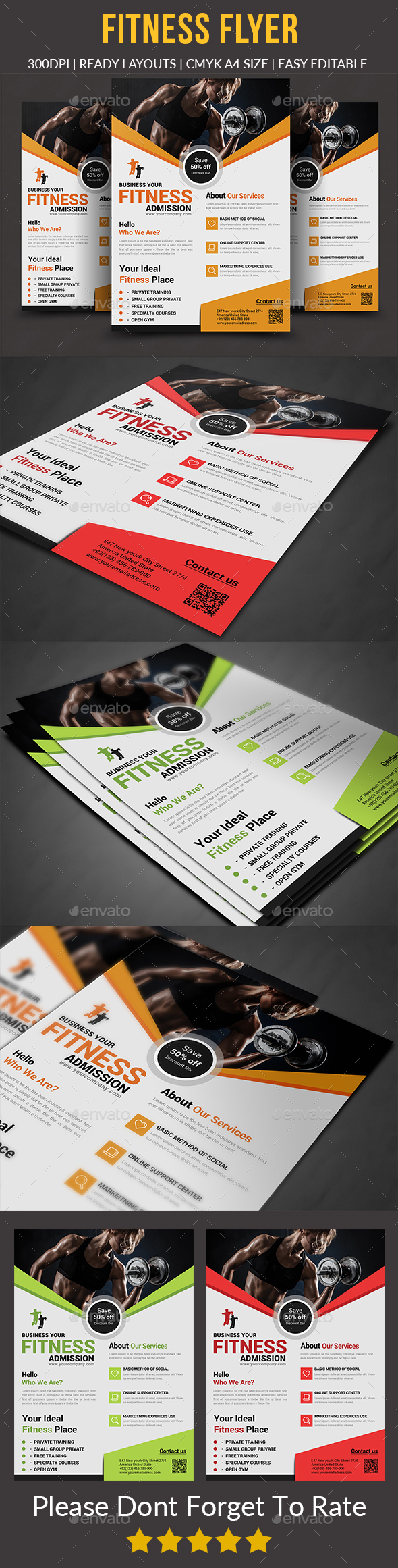 Fitness Flyer - Sports Events