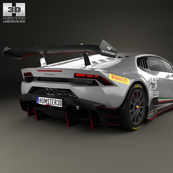 Lamborghini Huracan (LP 620 2) Super Trofeo 2014