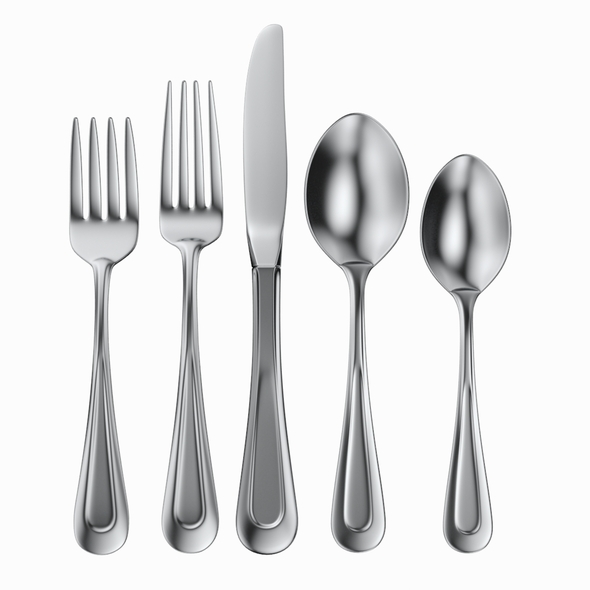 Cutlery 5 Item Set - 3DOcean Item for Sale