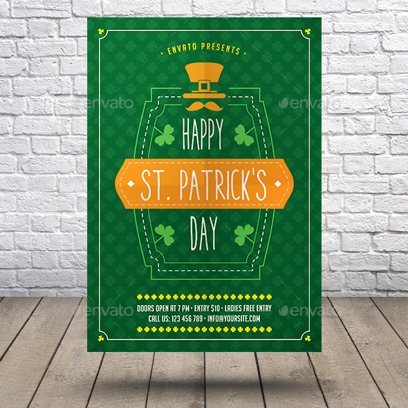 St Patrick's Day Flyer - Events Flyers