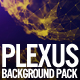 Golden Plexus Background Pack - VideoHive Item for Sale