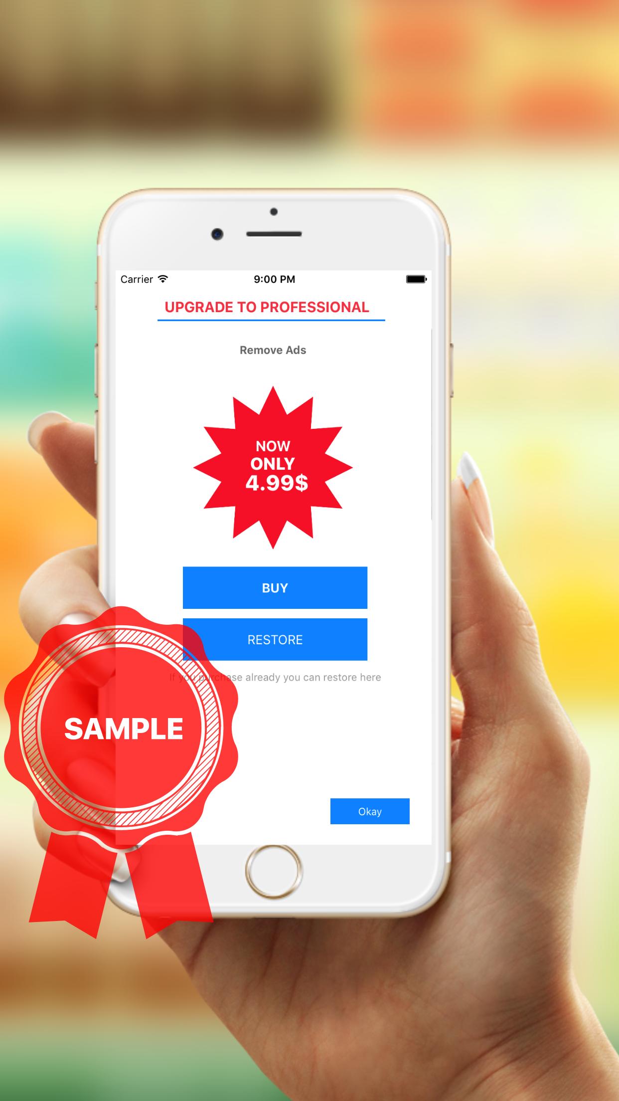 QR Code Reader - Swift 5 - AdMob - In App Purchase