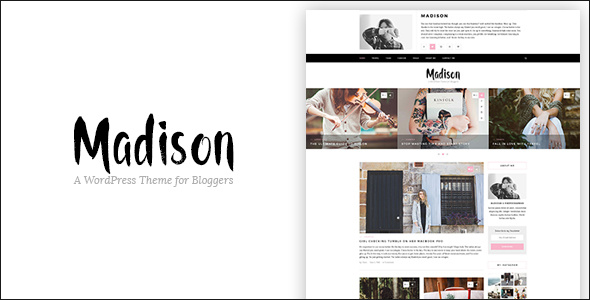 Madison – A Responsive WordPress Blog Theme