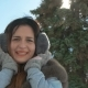 Beautiful Girl Smiling in Winter