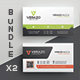 Business Card Bundle 27 - GraphicRiver Item for Sale