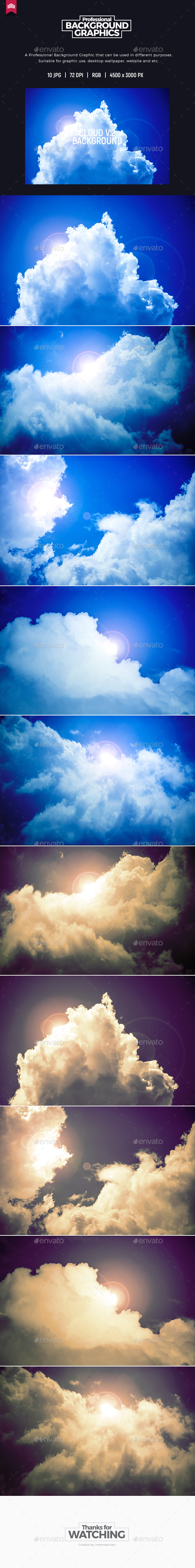 Cloud Background - Nature Backgrounds