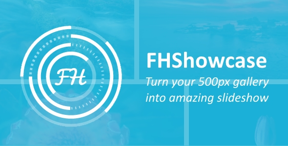 FHShowcase - Turn your 500px gallery into amazing slideshow - CodeCanyon Item for Sale