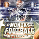 Monday Football Flyer Template - GraphicRiver Item for Sale