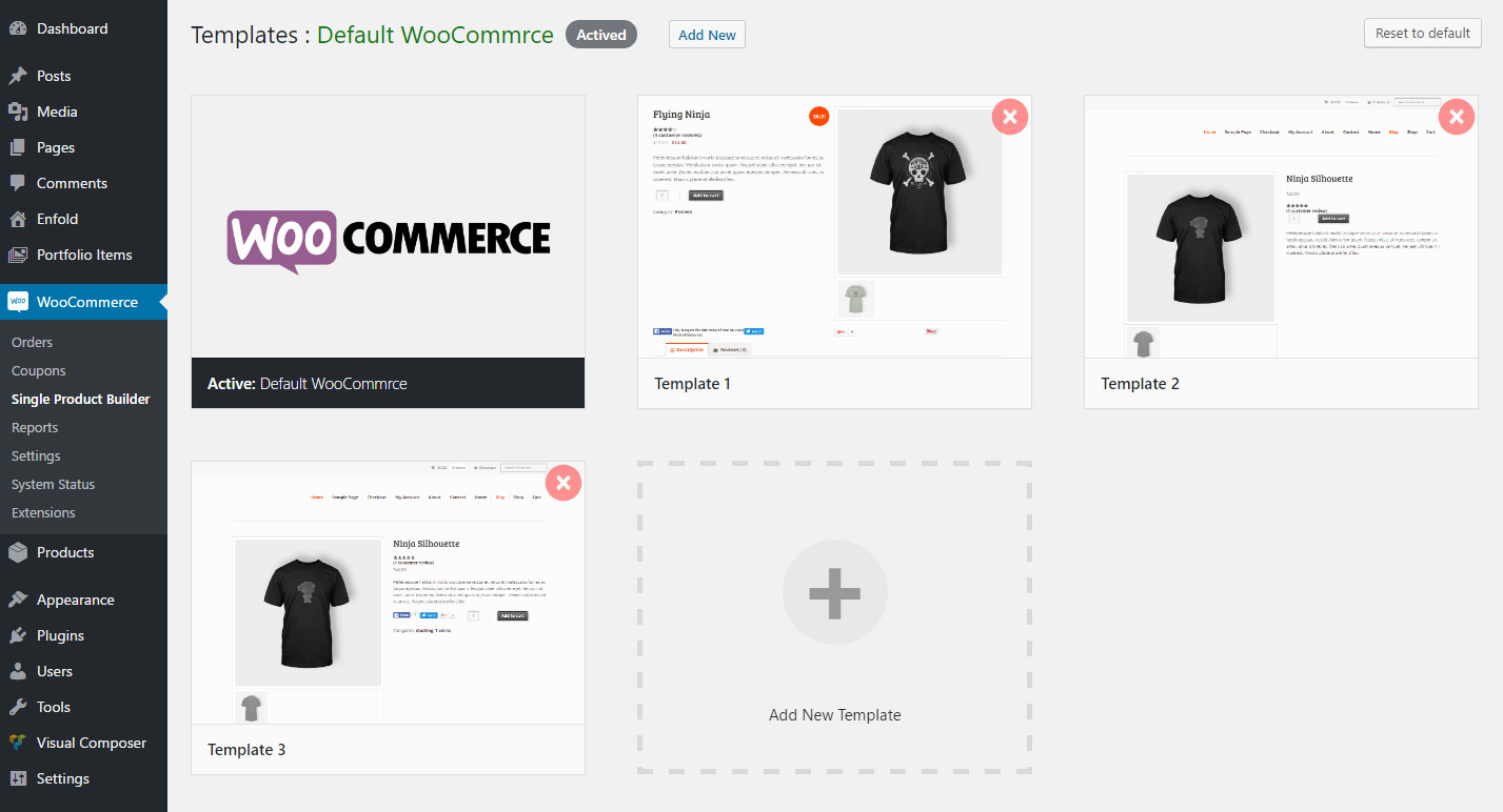 single product page builder for woocommerce by ninjateam codecanyon
