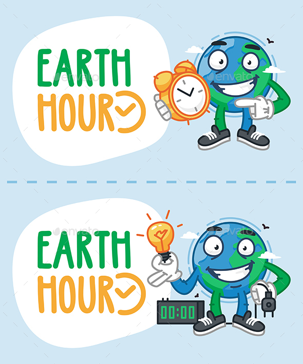 Earth Hour Concept - Miscellaneous Seasons/Holidays