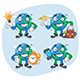 Set Characters Earth Part 4 - GraphicRiver Item for Sale