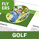 Golf Flyers 5 – 4 Options - GraphicRiver Item for Sale