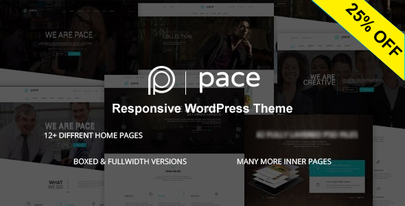 Pace - Responsive MultiPurpose Theme - Business Corporate