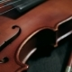 Part of Aged Violin on Black Background - VideoHive Item for Sale