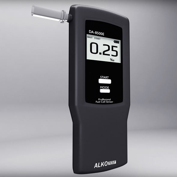 Alcohol Breathalyser - 3DOcean Item for Sale