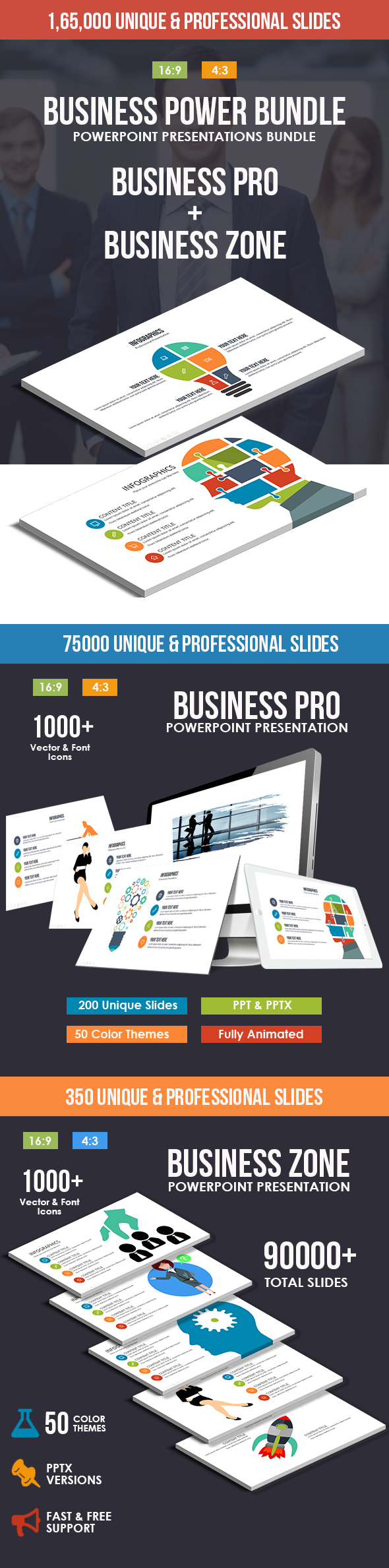 Business Power Powerpoint Bundle - Business PowerPoint Templates