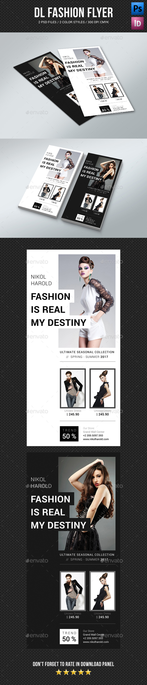 DL Fashion Flyer 02 - Commerce Flyers