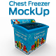 Chest Freezer Mock-up - GraphicRiver Item for Sale