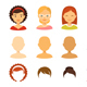 Girl Avatars Creator - GraphicRiver Item for Sale