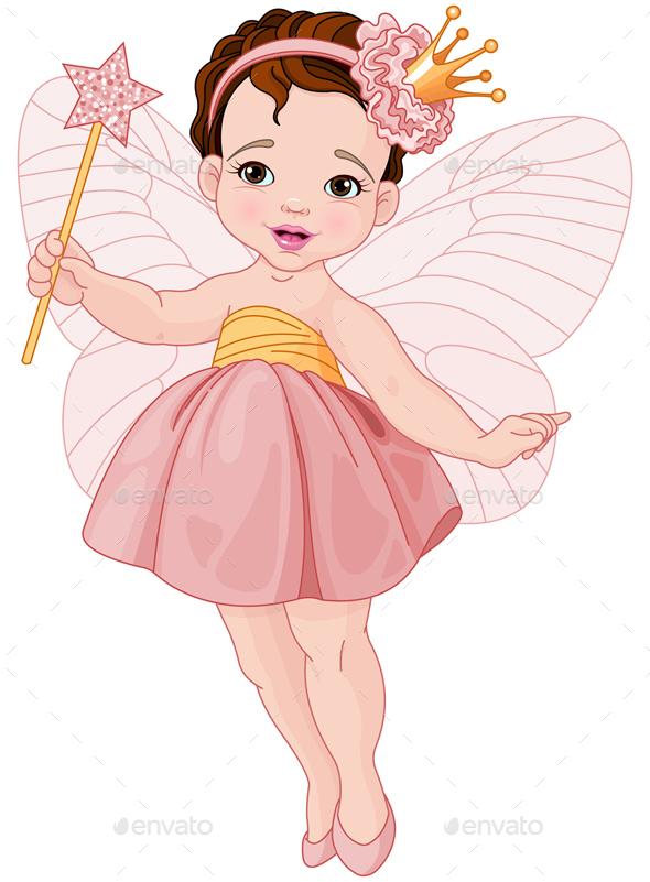 Fairy Ballerina - People Characters