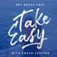 TakeEasy Brush Font - GraphicRiver Item for Sale