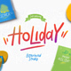 Holiday Font - GraphicRiver Item for Sale