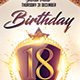 Birthday Part 2 Flyer Template - GraphicRiver Item for Sale