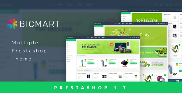 Leo Bicmart Multiple Prestashop Theme for Electronics | Food | Drink | Technology | Mobile | Fresh - Technology PrestaShop