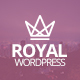 Royal - Responsive One Page Parallax WordPress Theme Nulled