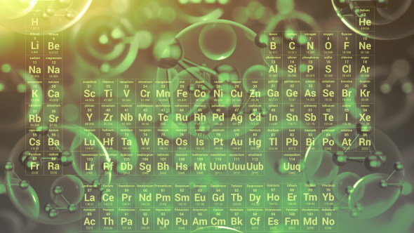 Periodic table of elements by graysolid videohive play preview video urtaz Choice Image