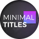 Color full Minimal Titles - VideoHive Item for Sale