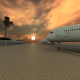 Sunset Airport - VideoHive Item for Sale