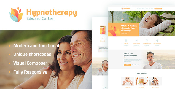 Hypnotherapy and Psychologist WP Theme - Health & Beauty Retail