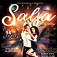 Salsa Saturdays Flyer - GraphicRiver Item for Sale