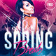 Spring Break Party | Psd Template - GraphicRiver Item for Sale