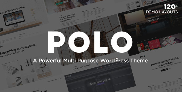 Polo - Responsive Multi-Purpose WordPress Theme - Corporate WordPress