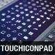 147 Touch Icon Pad icons - GraphicRiver Item for Sale