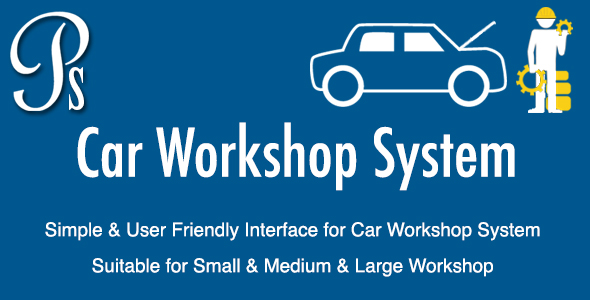 Car Workshop System - CodeCanyon Item for Sale