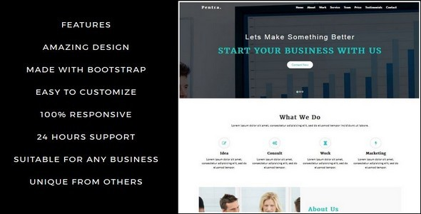 Pentra-Multipurpose Corporate HTML5 Template