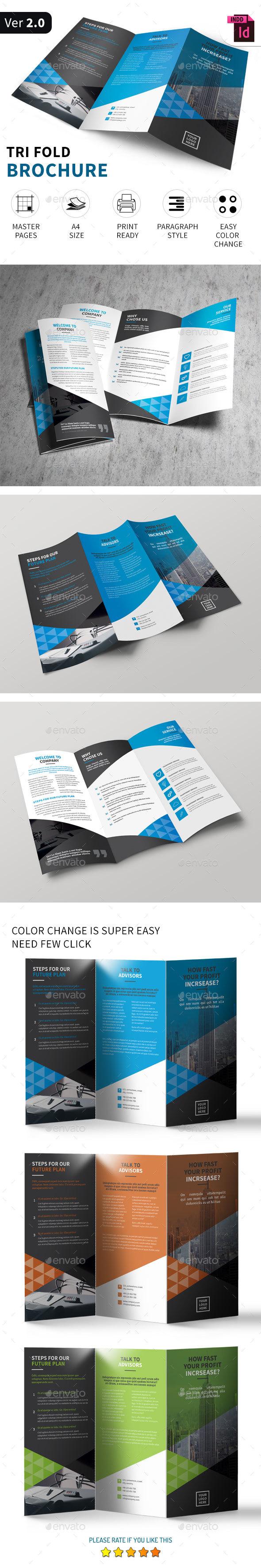 Tri-fold Brochure Vol.6 - Corporate Brochures