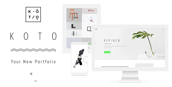 Koto - A Unique and Inspiring Portfolio Theme