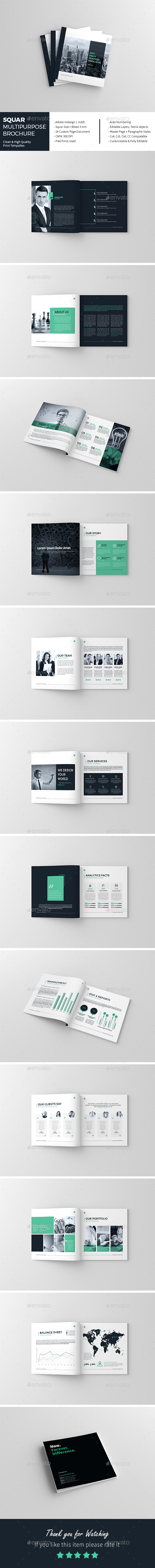 Squar Multi-Purpose Brochure - Corporate Brochures