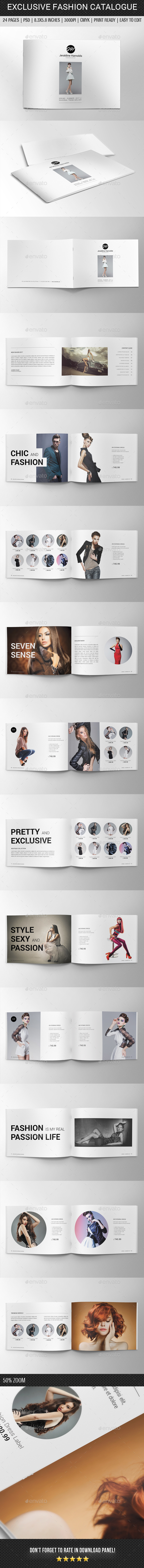 Exclusive Fashion Catalogue - Catalogs Brochures