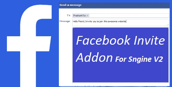 Facebook Invite Addon For sngine v2 - CodeCanyon Item for Sale
