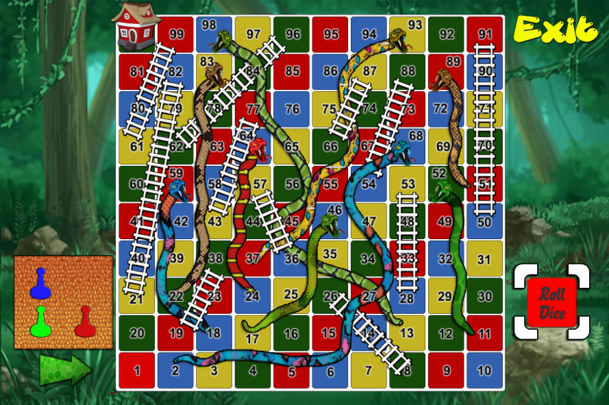 Snake & Ladder Unity3D Source Code + Admob Integration + Android iOS Game