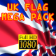 3D Flag Pack UK - VideoHive Item for Sale