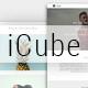 ICUBE_Muse Portfolio Template - ThemeForest Item for Sale
