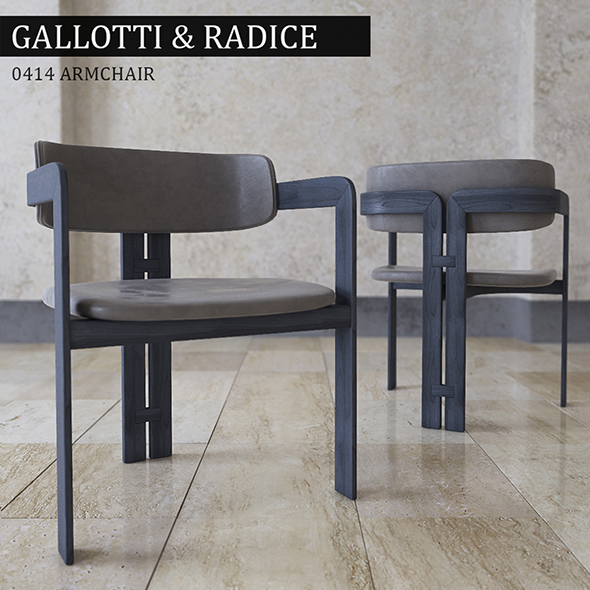 Chair Gallotti Radice - 3DOcean Item for Sale