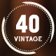 40 Vintage Labels Quality Logo Badges Bundle - GraphicRiver Item for Sale